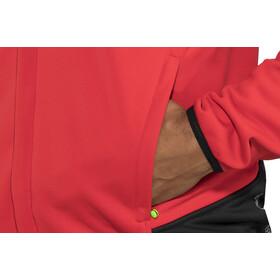 GORE WEAR C5 Gore Windstopper Veste de Trail Thermique Homme, red/black